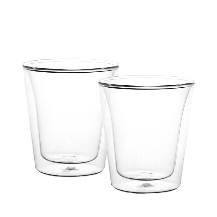 double walled glasses bodum canteen 2pc wall glasses 200ml on now 10769