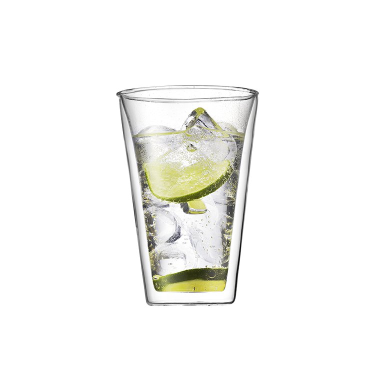 Bodum Canteen 2pc Double Wall Glasses 400ml