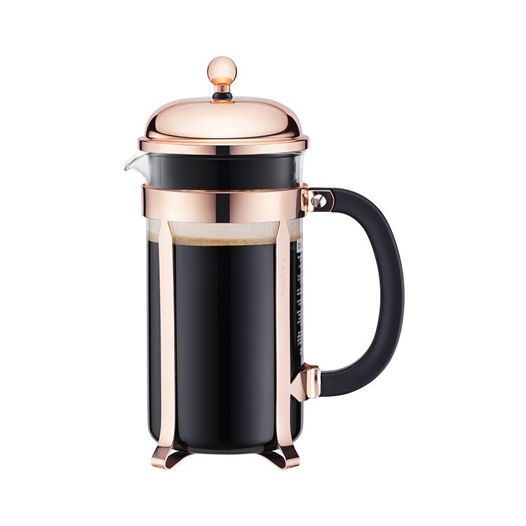 Bodum Chambord 8 Cup Coffee Maker Classic Copper