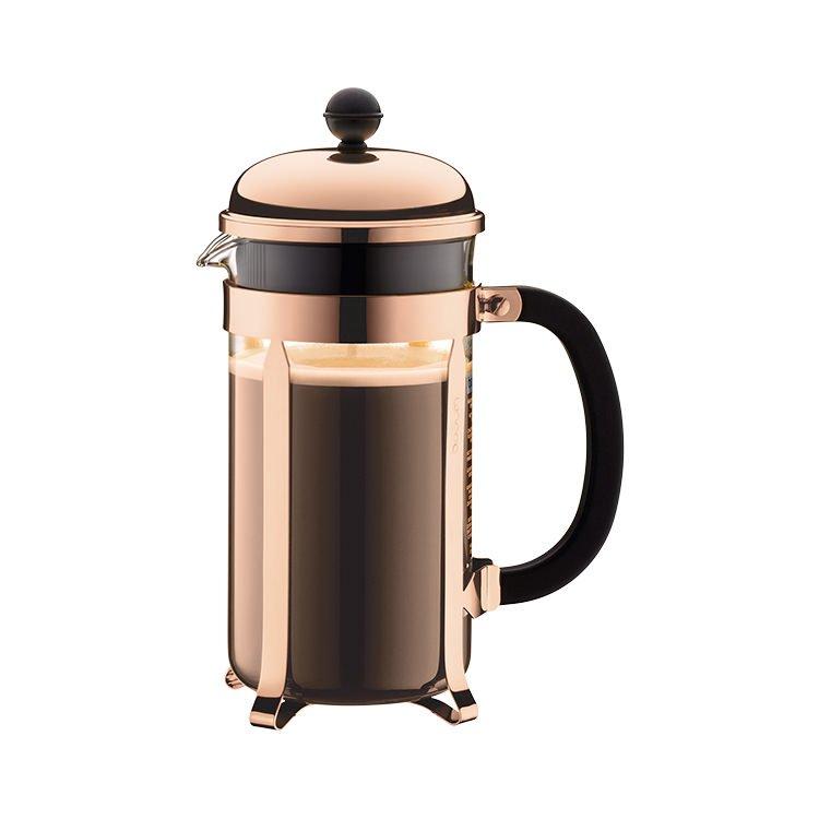 Bodum Chambord Coffee Press 8 Cup Copper