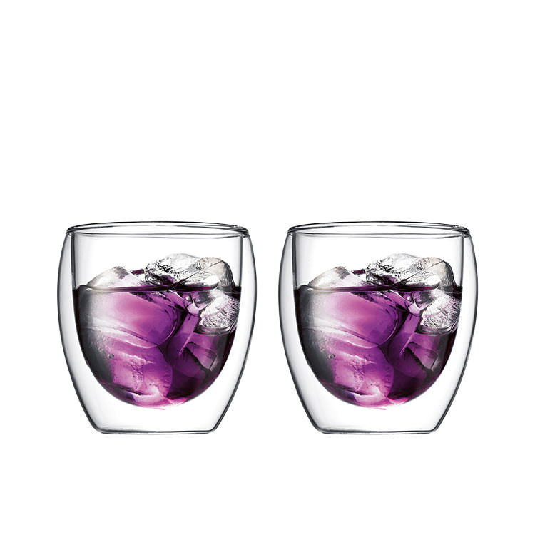 Bodum Pavina 2pc Double Wall Glasses 250ml