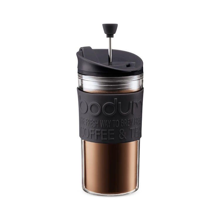 Bodum Travel Press Small 350ml Black