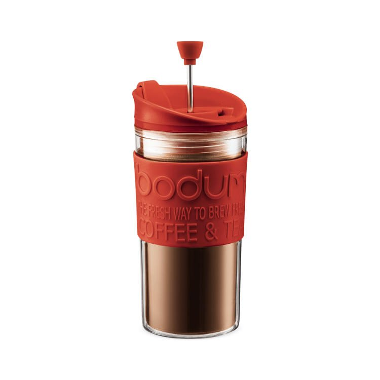 Bodum Travel Press Small 350ml Red