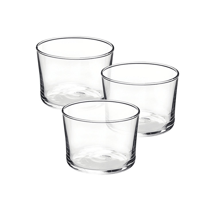 Bormioli Rocco Bodega 3pc Mini Glass Tumbler Set 200ml