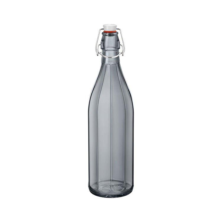 Bormioli Rocco Oxford Bottle with Top 1L Grey