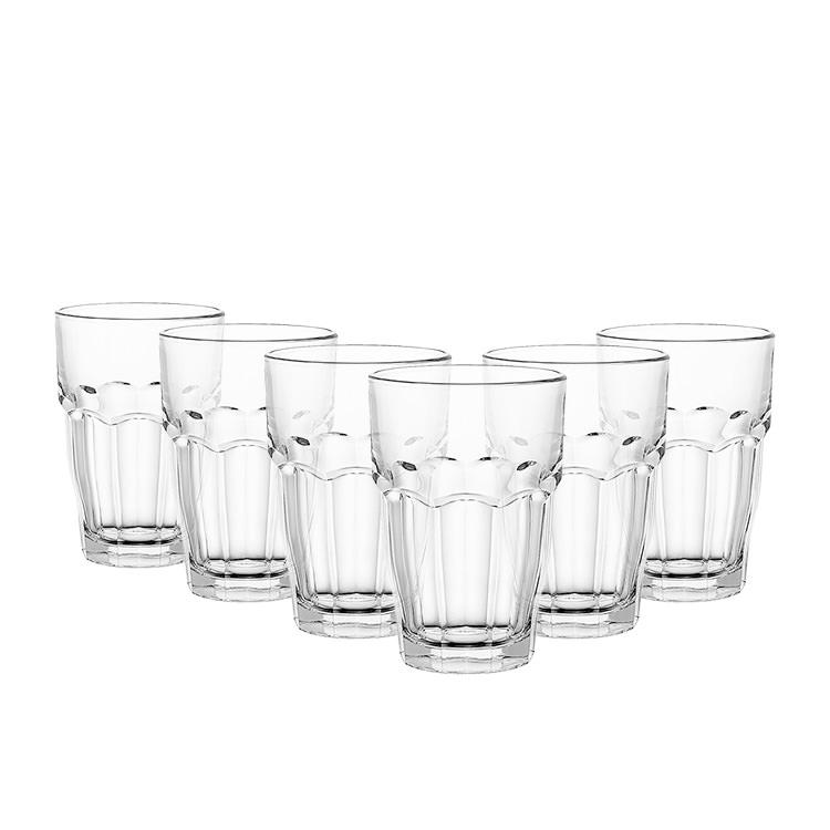 Bormioli Rocco Rock Bar 6pc Cooler Glass Set 480ml