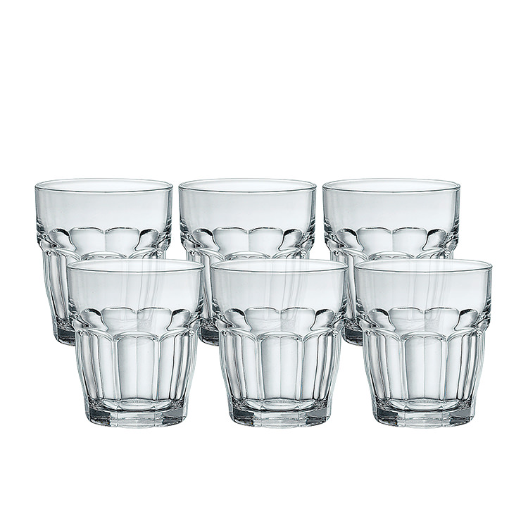 Bormioli Rocco Rock Bar 6pc DOF Glass Set 390ml