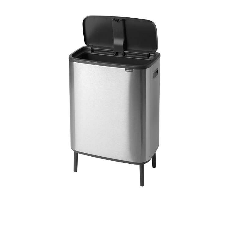 Brabantia Bo Touch Bin Hi Fingerprint Proof 60L Matte Steel