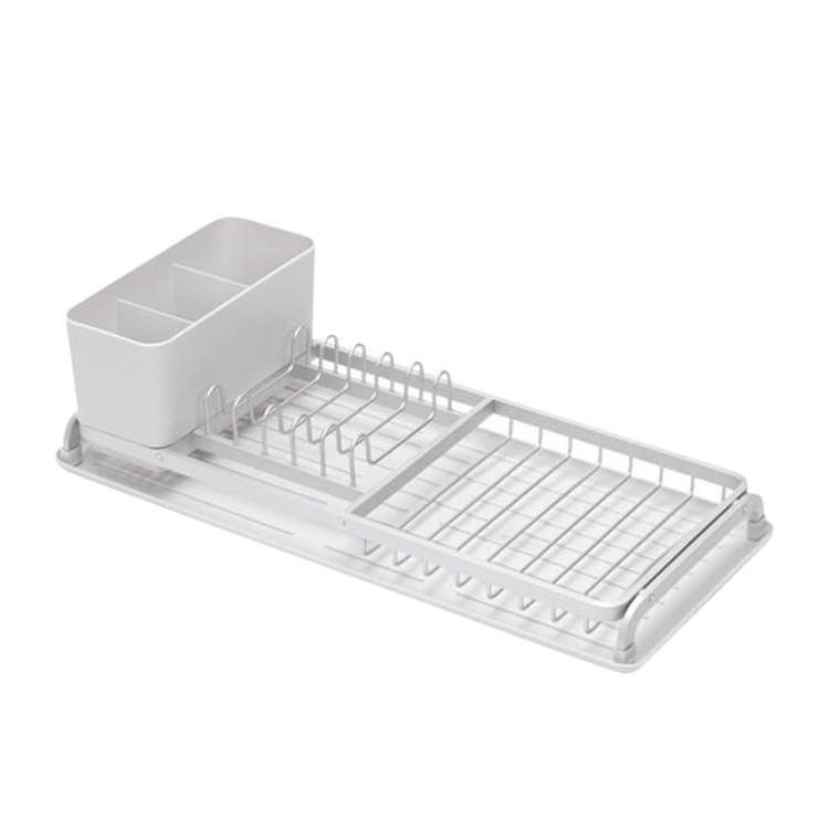Brabantia Compact Dish Drying Rack Light Grey