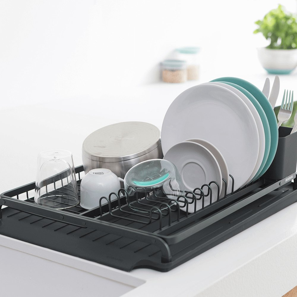 Brabantia Dish Drying Rack Dark Grey image #6