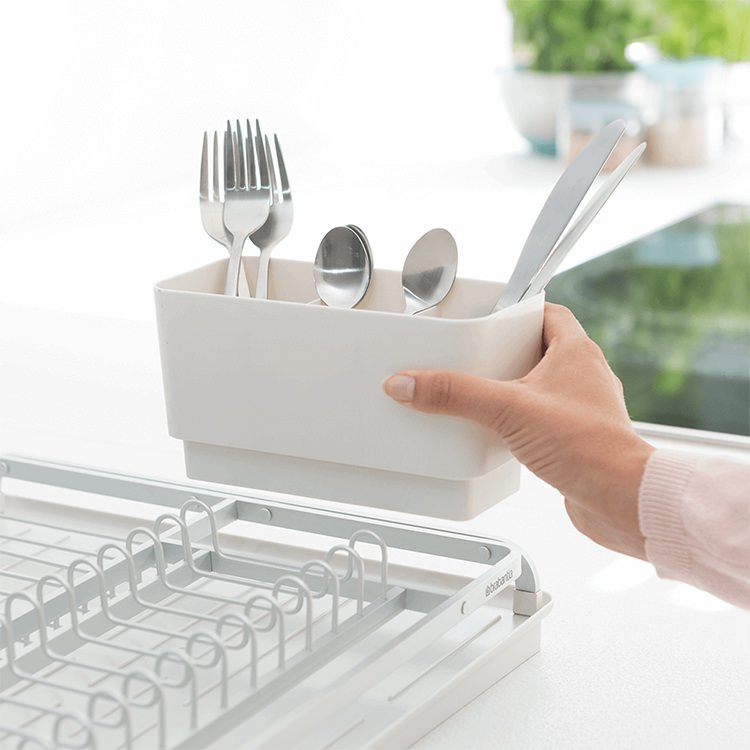 Brabantia Dish Drying Rack Light Grey