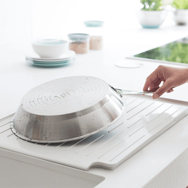 Brabantia Dish Drying Rack Light Grey