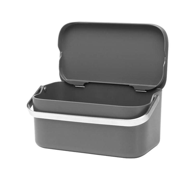 Brabantia Food Waste Caddy Dark Grey