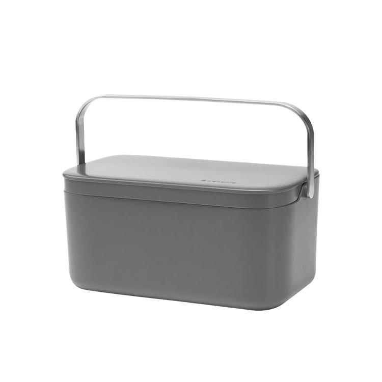 Brabantia Food Waste Caddy Dark Grey