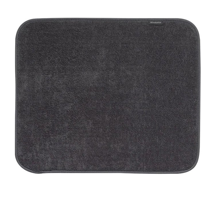 Brabantia Microfibre Dish Drying Mat Dark Grey