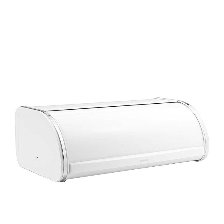 Brabantia Roll Top Bread Bin White