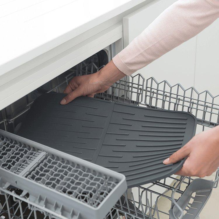 Brabantia Silicone Dish Drying Mat Dark Grey