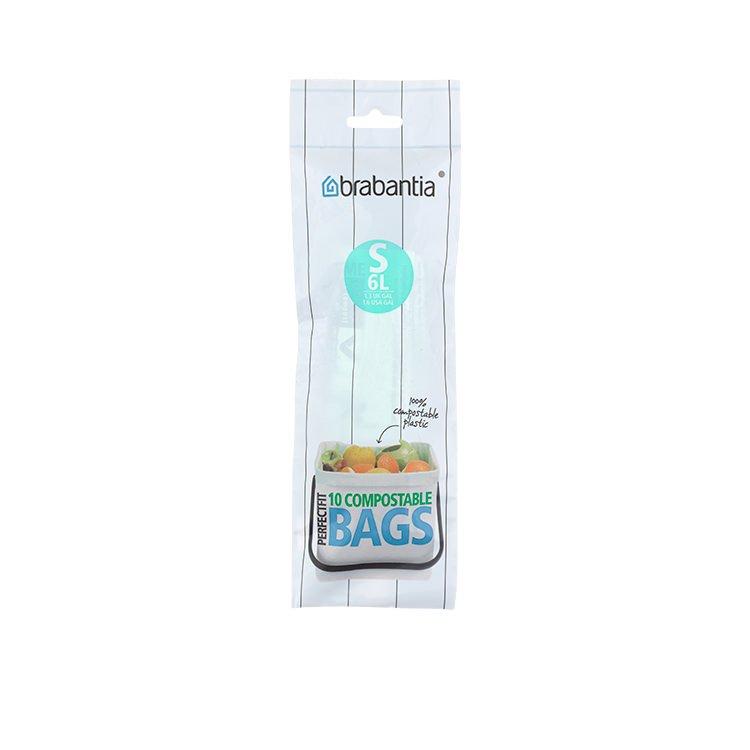 Brabantia Sort & Go Green Compost Bags 10pk