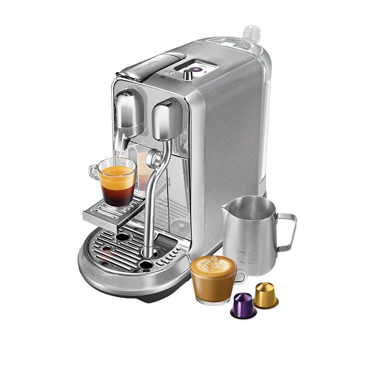 Breville Nespresso Creatista Plus Stainless Steel