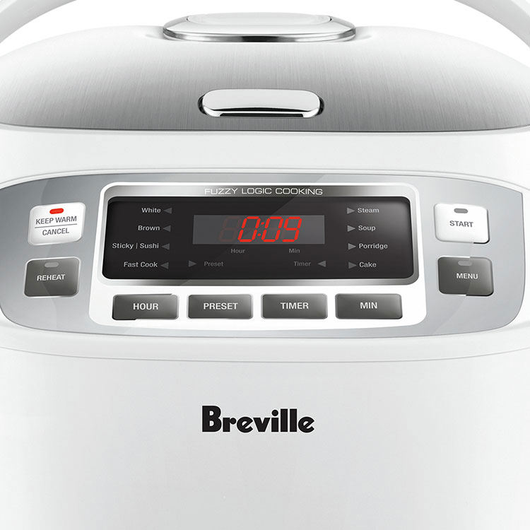 Breville The Smart Rice Box Rice Cooker