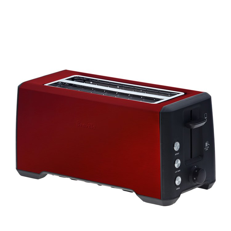 Breville the Bit More Toaster 4 Slice Cranberry