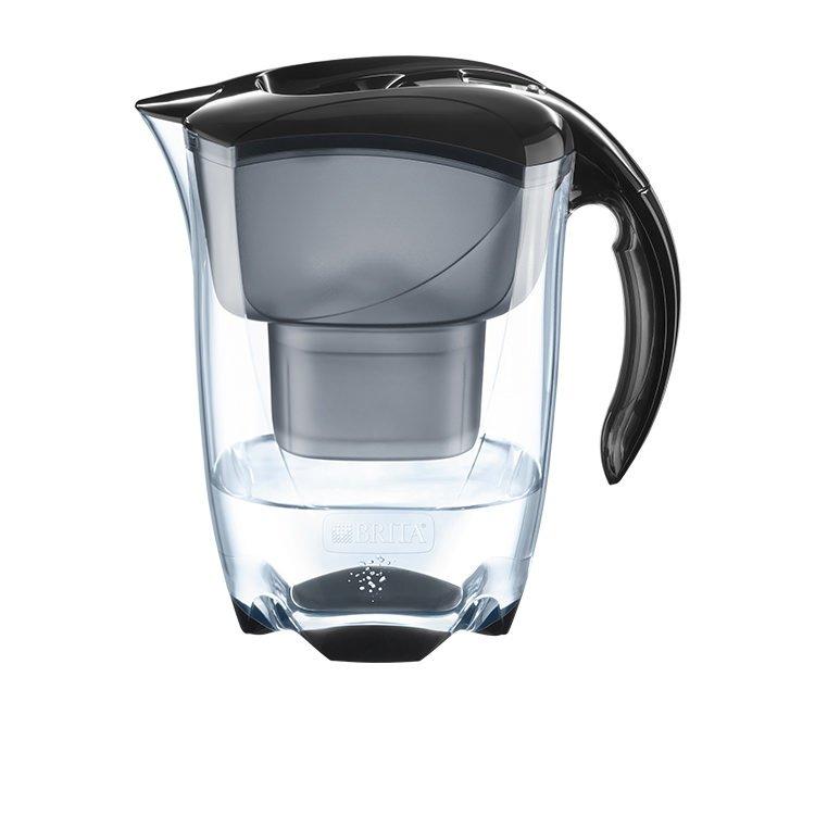 Brita Elemaris Water Jug 2.4L Cool Black