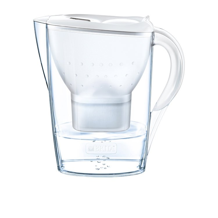 Brita Marella Water Jug 2.4L Cool White