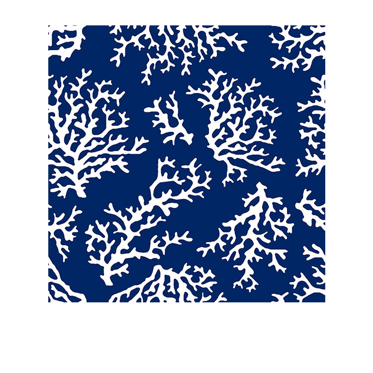 Coastal Classics 3ply Napkin 20pk Coral Blue