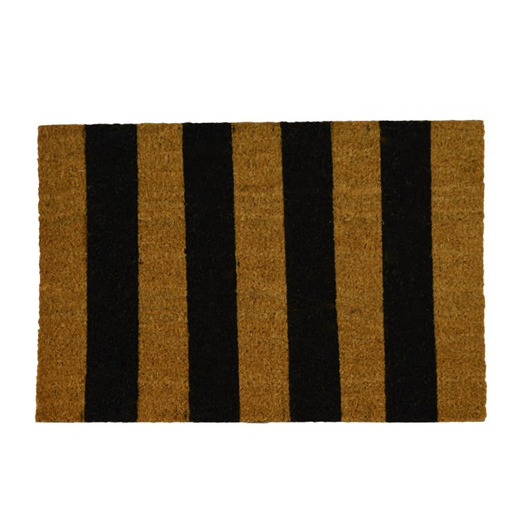 CTC Doormat Striped Natural & Black 40x60cm