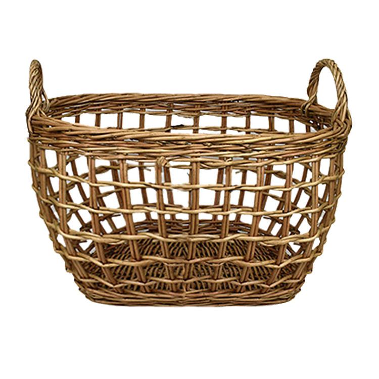 Casa Regalo Lika Rectangular Willow Basket Large 49x35cm