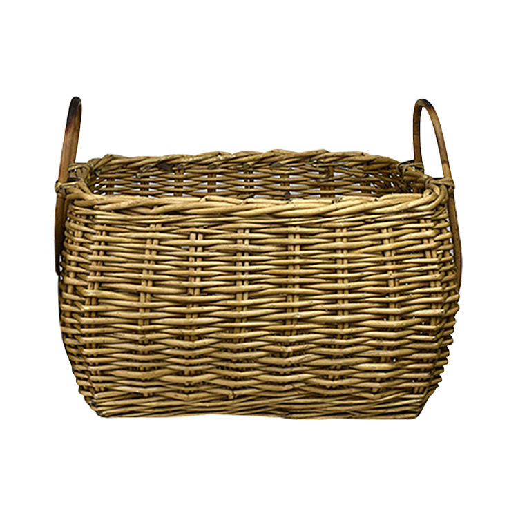 Casa Regalo Lika Rectangular Willow Basket Large 51x38cm