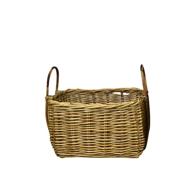 Casa Regalo Lika Rectangular Willow Basket Small 36x43cm