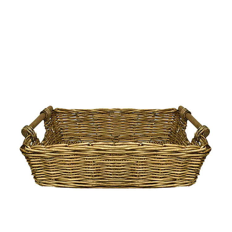 Casa Regalo Lika Rectangular Willow Tray Large 49x36cm