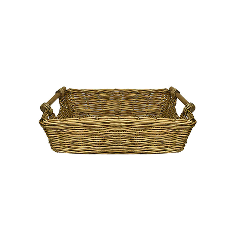 Casa Regalo Lika Rectangular Willow Tray Small 36x26cm