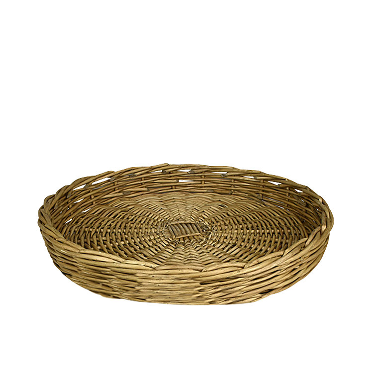 Casa Regalo Lika Round Willow Tray Large 48cm