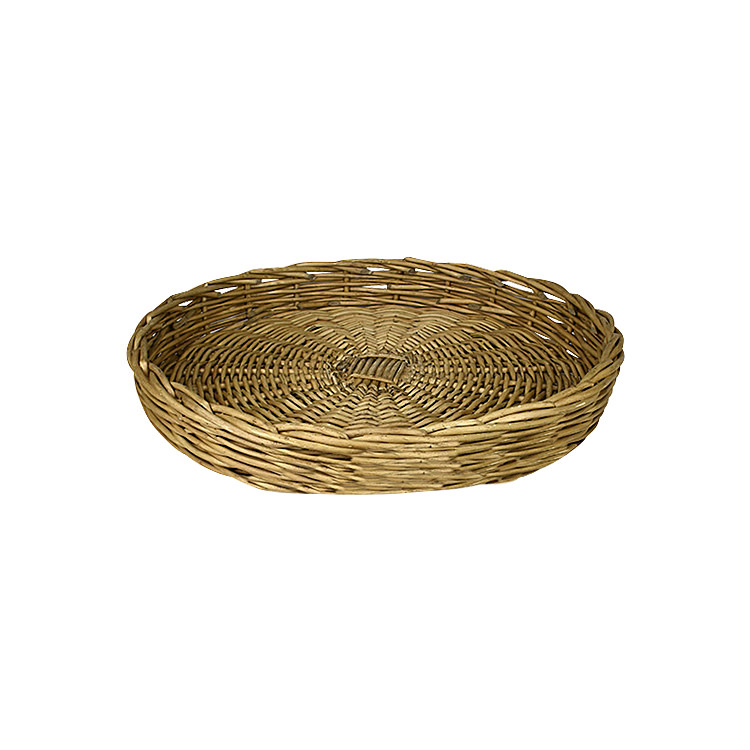 Casa Regalo Lika Round Willow Tray Small 34cm