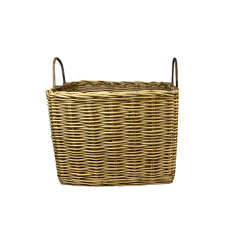 Casa Regalo Lika Square Willow Basket Small 39x33cm