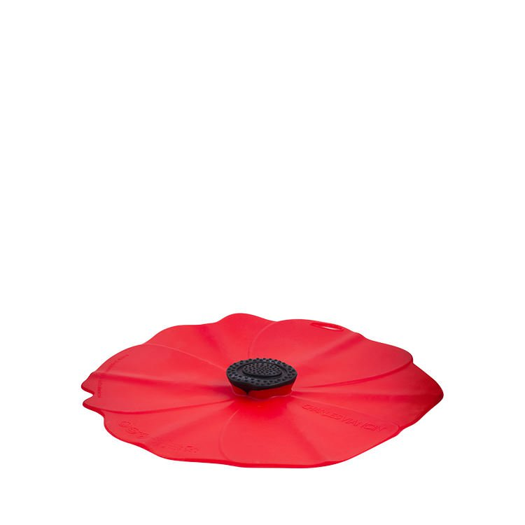 Charles Viancin Poppy Silicone Lid 23cm Red
