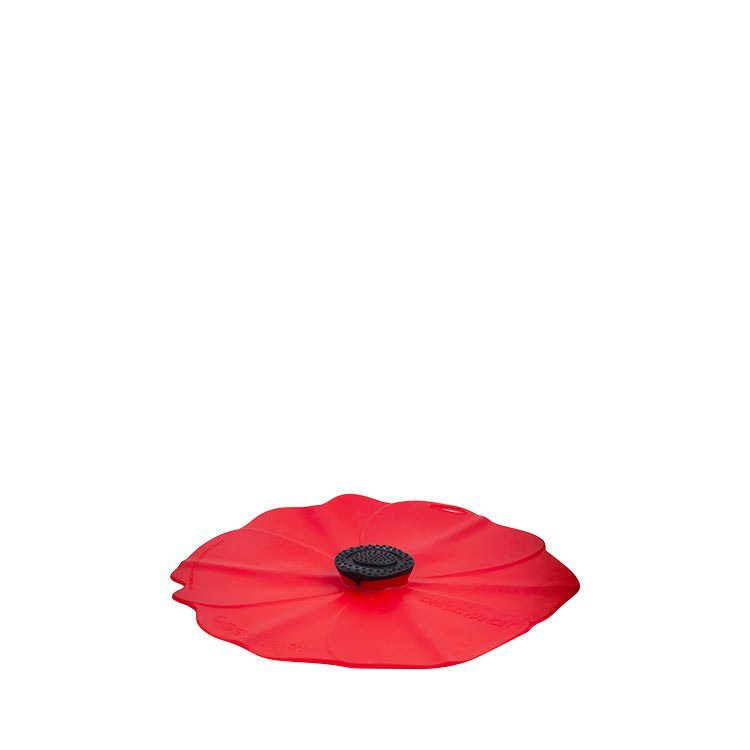 Charles Viancin Poppy Silicone Lid 15cm Red