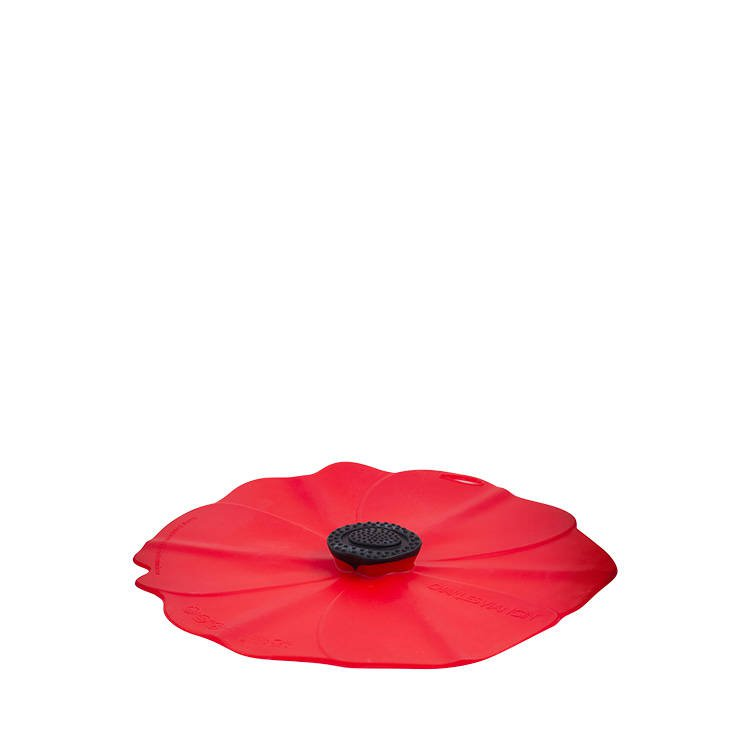 Charles Viancin Poppy Silicone Lid 20cm Red