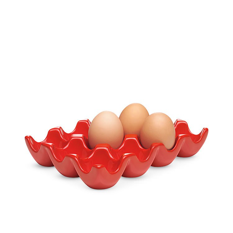 Chasseur Egg Tray Dozen Red