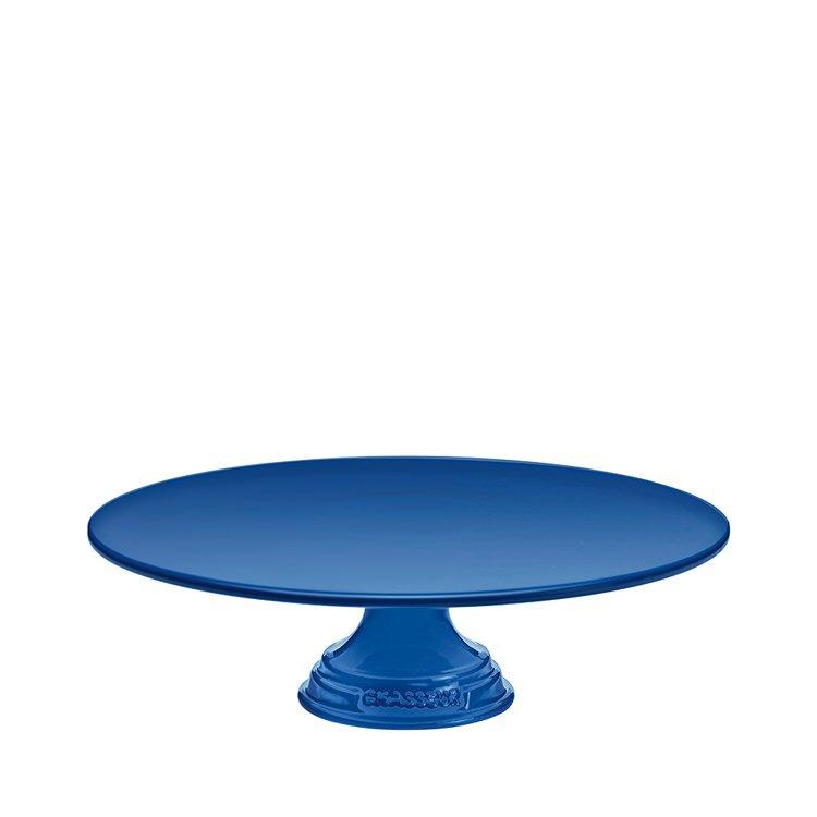 Chasseur La Cuisson Cake Stand 30cm Blue