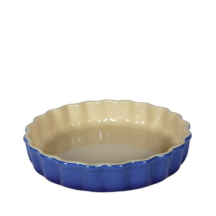 Chasseur La Cuisson Flan Dish 26cm Blue