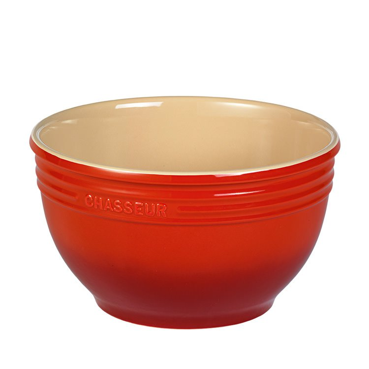 Chasseur La Cuisson Mixing Bowl 29cm - 7L Red