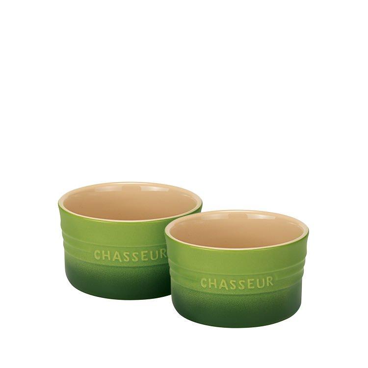 Chasseur La Cuisson Ramekin Set of 2 Apple