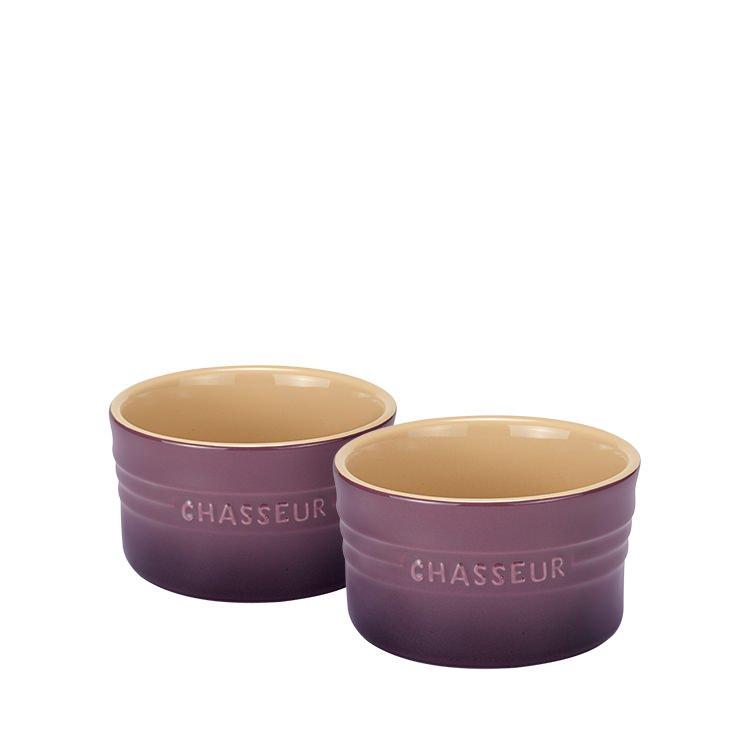 Chasseur La Cuisson Ramekin Set of 2 Plum