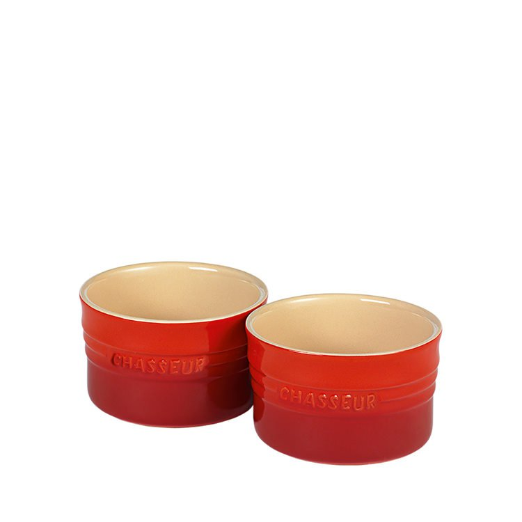 Chasseur La Cuisson Ramekin Set of 2 Red