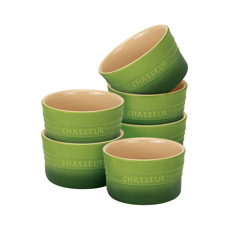 Chasseur La Cuisson Ramekin Set of 6 Apple