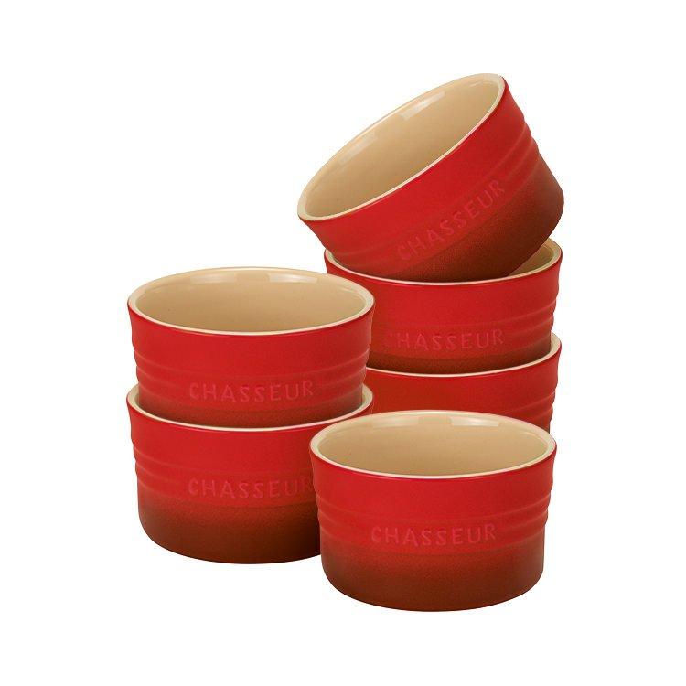 Chasseur La Cuisson Ramekin Set of 6 Inferno Red