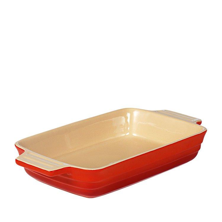 Chasseur La Cuisson XL Rectangular Baker Dish Red